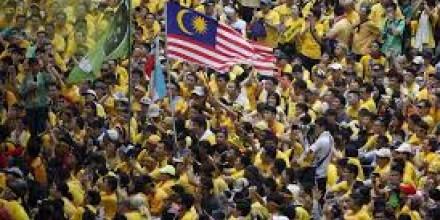 Photo: Bersih rally, Malaysia: channelnewsasia.com